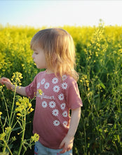 Load image into Gallery viewer, Hand Made 0-3 Months to 5yrs Wild Flower Vests & T-Shirts