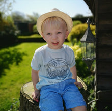 Load image into Gallery viewer, Hand Made Children's Vests & T-shirts 3-6M to 5 Yrs Having A Whale Of A Time