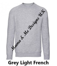 Load image into Gallery viewer, Inspired Children's Jumpers 1 to 13 Yrs (You Choose The Text 7 Options Available)