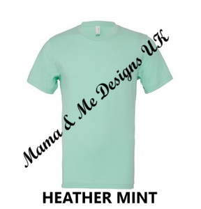 Hand Made Mama Just Needs A Minute Adult Ladies T-Shirt XS To XXL Colour Options Available