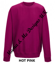 Load image into Gallery viewer, Hand Made Proud Mama Adult Ladies Sweatshirt/Jumper UK Sizes 8-20