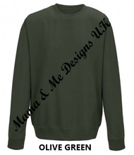 Load image into Gallery viewer, Hand Made Best Auntie Ever Adult Ladies Sweatshirt/Jumper UK Sizes 8-22