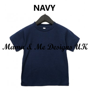 Hand Made Children's Vests & T-shirts 3-6M to 5 Yrs Set Sail With Anchors