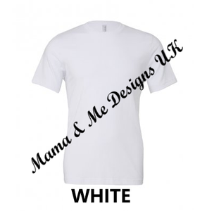 Hand Made Motherhood Perfection Adult Ladies T-Shirt XS To XXL Colour Options Available