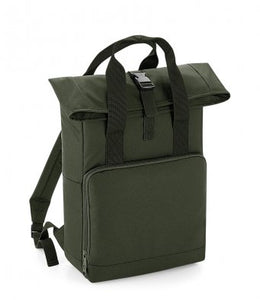 Hand Made Explore The Unseen Back Pack Twin Handle Rolltop Closure Explorer Style