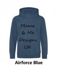 Load image into Gallery viewer, Hand Made Children's hoody 1 to 13 Yrs Wilderness