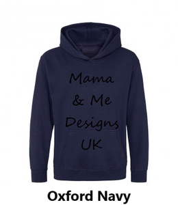 Hand Made Children's hoody 1 to 13 Yrs Kindness Is Free