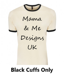 Inspired Range Adults T-Shirt Sizes 8-20 (Choose Your Text 7 Options Available)