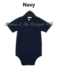 Load image into Gallery viewer, Hand Made Children's Vests & T-shirts 3-6M to 5 Yrs Set Sail With Anchors