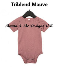 Load image into Gallery viewer, Hand Made Personalised Print Children's Vests & T-shirts 0-3M to 5 Yrs