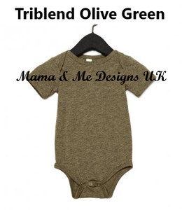 Hand Made Children's T-Shirt/Short Sleeve Vest 0-3M to 5 Yrs Woodland