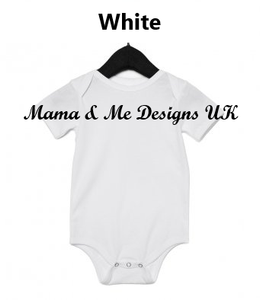 Hand Made Children's Vests, Bodysuits & T-shirts 0-3M to 12 Yrs Big, Middle & Newest Little