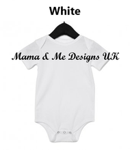 Load image into Gallery viewer, Hand Made _____ is for _____ Fancy Style Personalised Children's T-Shirts Vests 0-3M to 5 Yrs