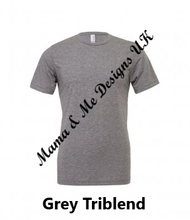 Load image into Gallery viewer, Hand Made M is for Mama Adult Ladies T-Shirt XS To XXL Colour Options Available