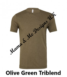 Hand Made M is for Mama Adult Ladies T-Shirt XS To XXL Colour Options Available