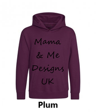 Load image into Gallery viewer, Inspired Range Adults Unisex Hoody UK Sizes 8-22 (Choose your Text 7 Options Available)