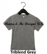 Load image into Gallery viewer, Hand Made 0-3Months to 5yrs Fancy Text Style Personalised Name ___ is for___ Children's Clothing