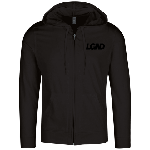 LGND Ghost Zip Up Hoodie
