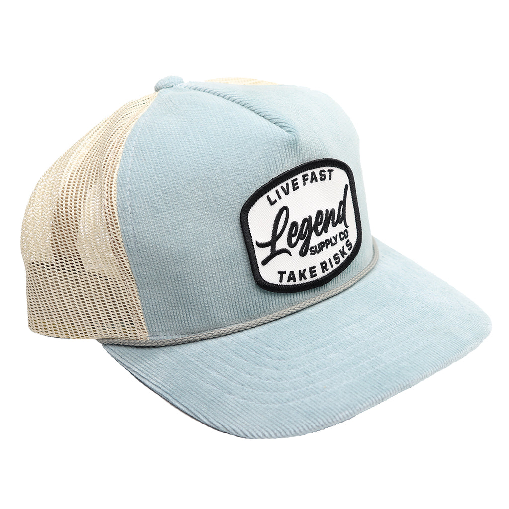 Aqua Sand Patch Hat
