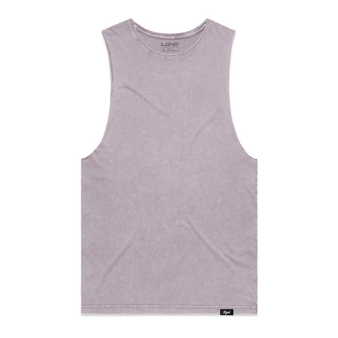 Orchid Wash Cut Off Tee