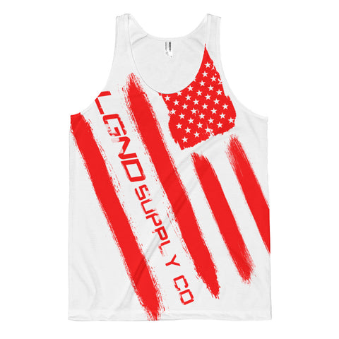 Red White and Badass Tank