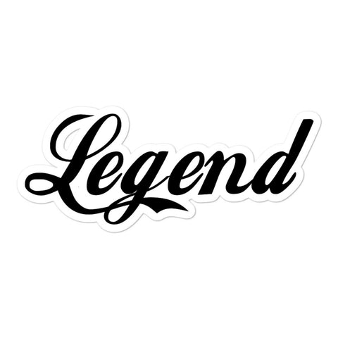 Classic Legend Decal