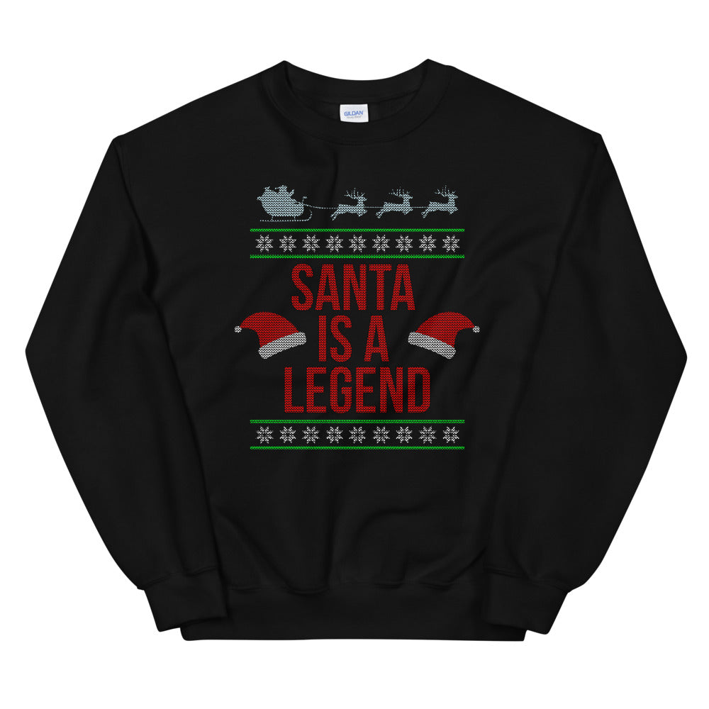 Santa Is a Legend Ugly Sweater
