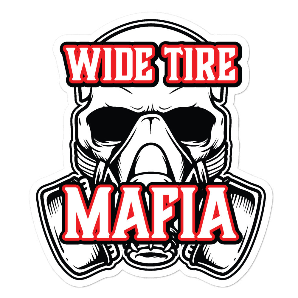 Wide Tire Mafia Decal