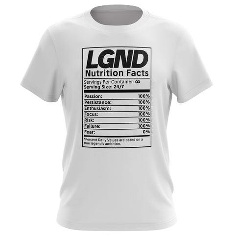 Nutrition Facts Tee