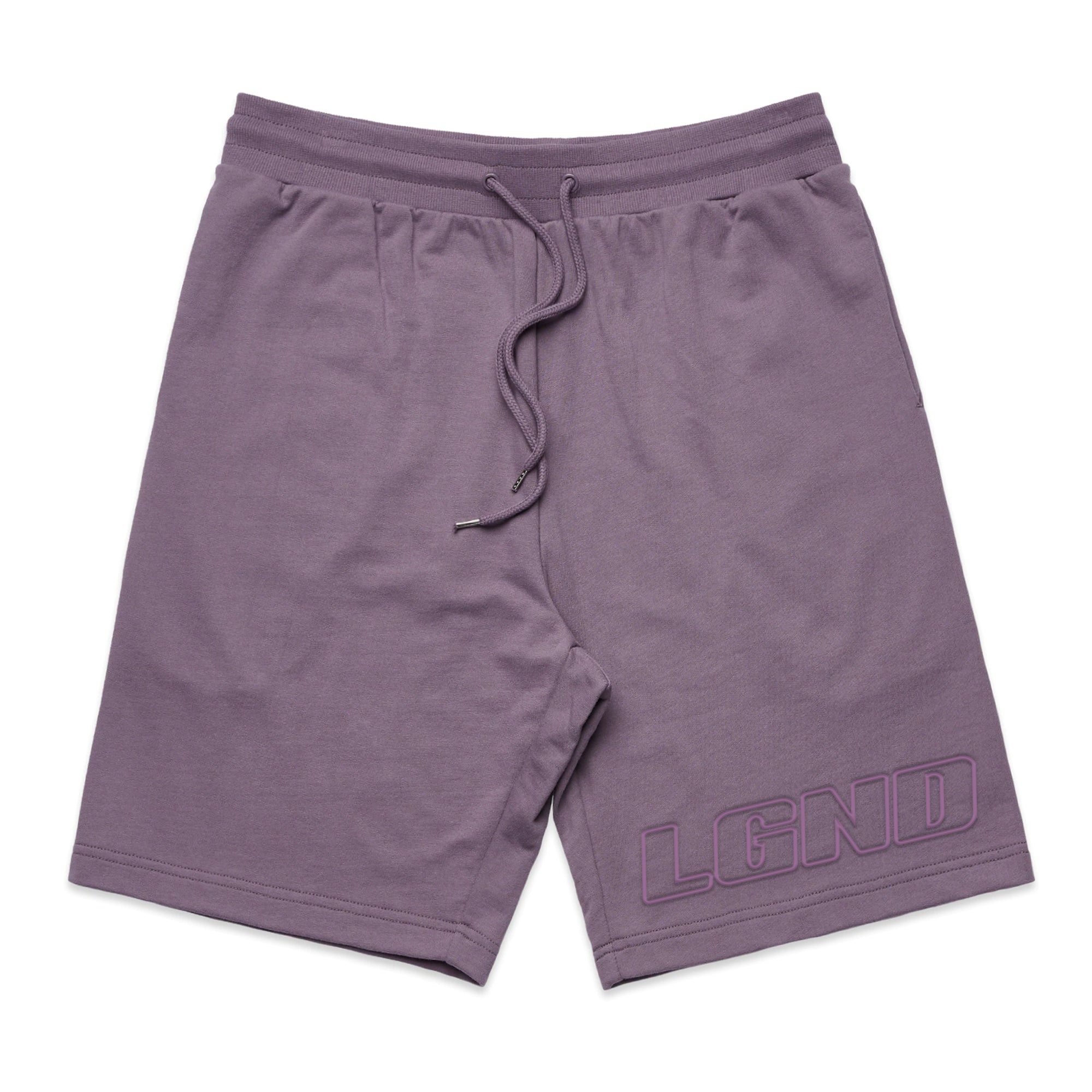 Purple Haze Embroidered Shorts