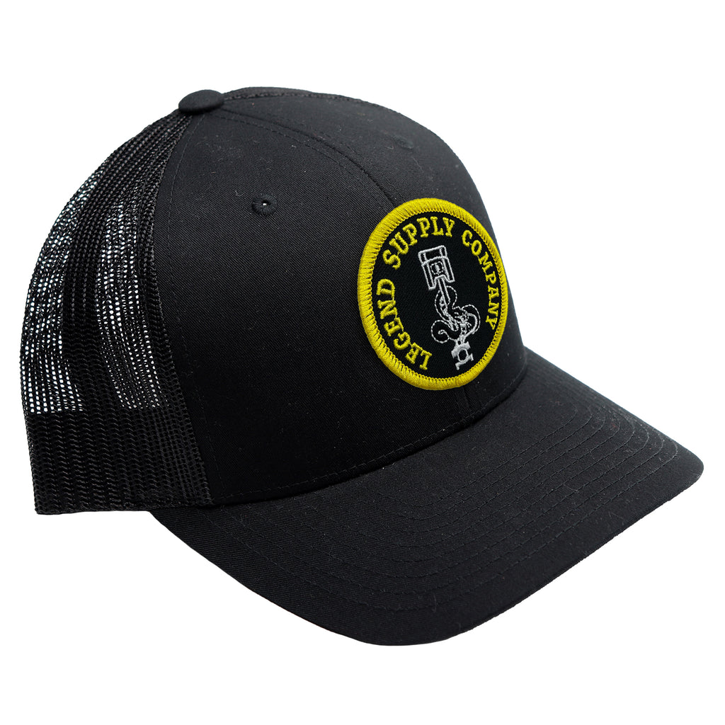 Soldier's Black Patch Hat