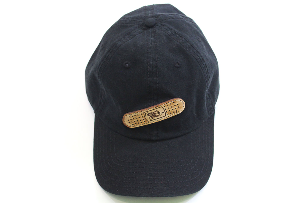 "Black ""In The Cut"" Dad Hat"