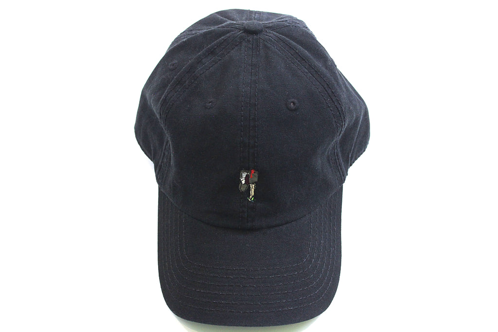 "Black ""Posted"" Dad Hat"