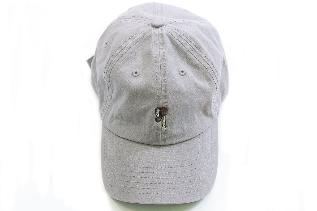 "Light Grey ""Posted"" Dad Hat"