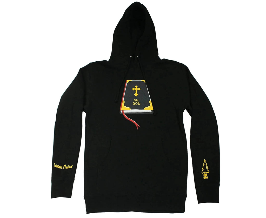 "Black ""On God"" Hoodie"