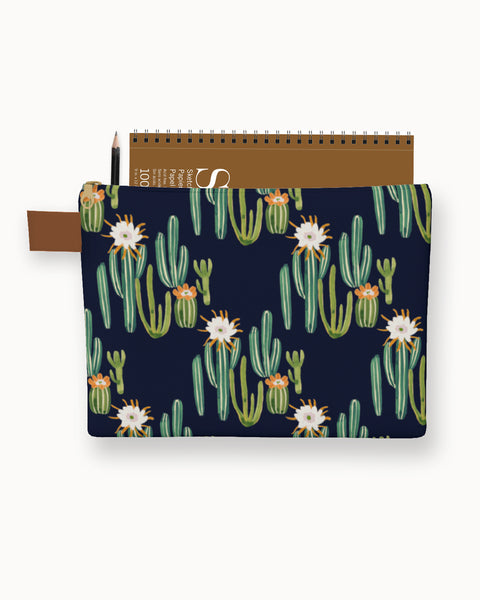 Cactus Desert Carry-All Pouch