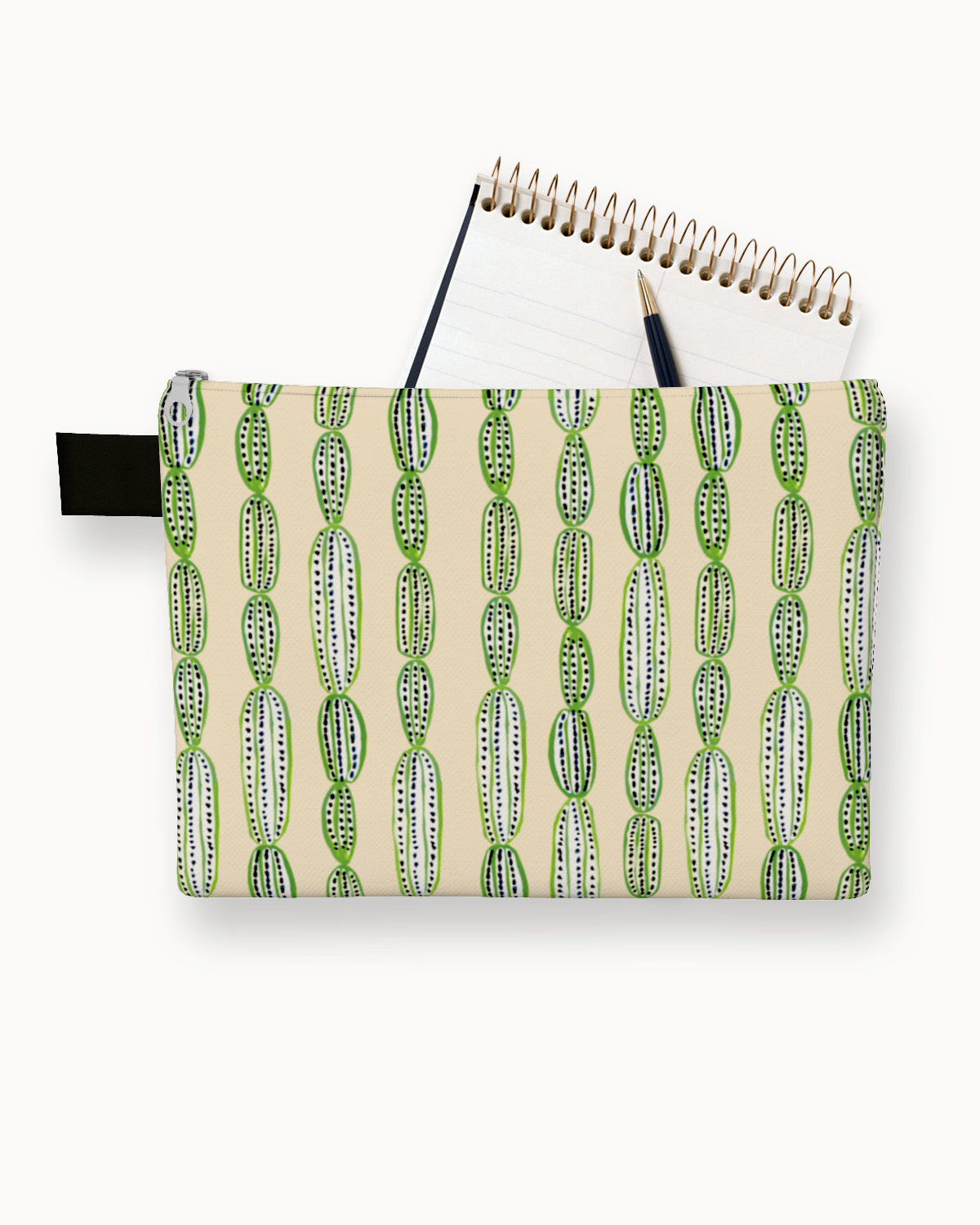 Cactus Lineup Carry-All Pouch