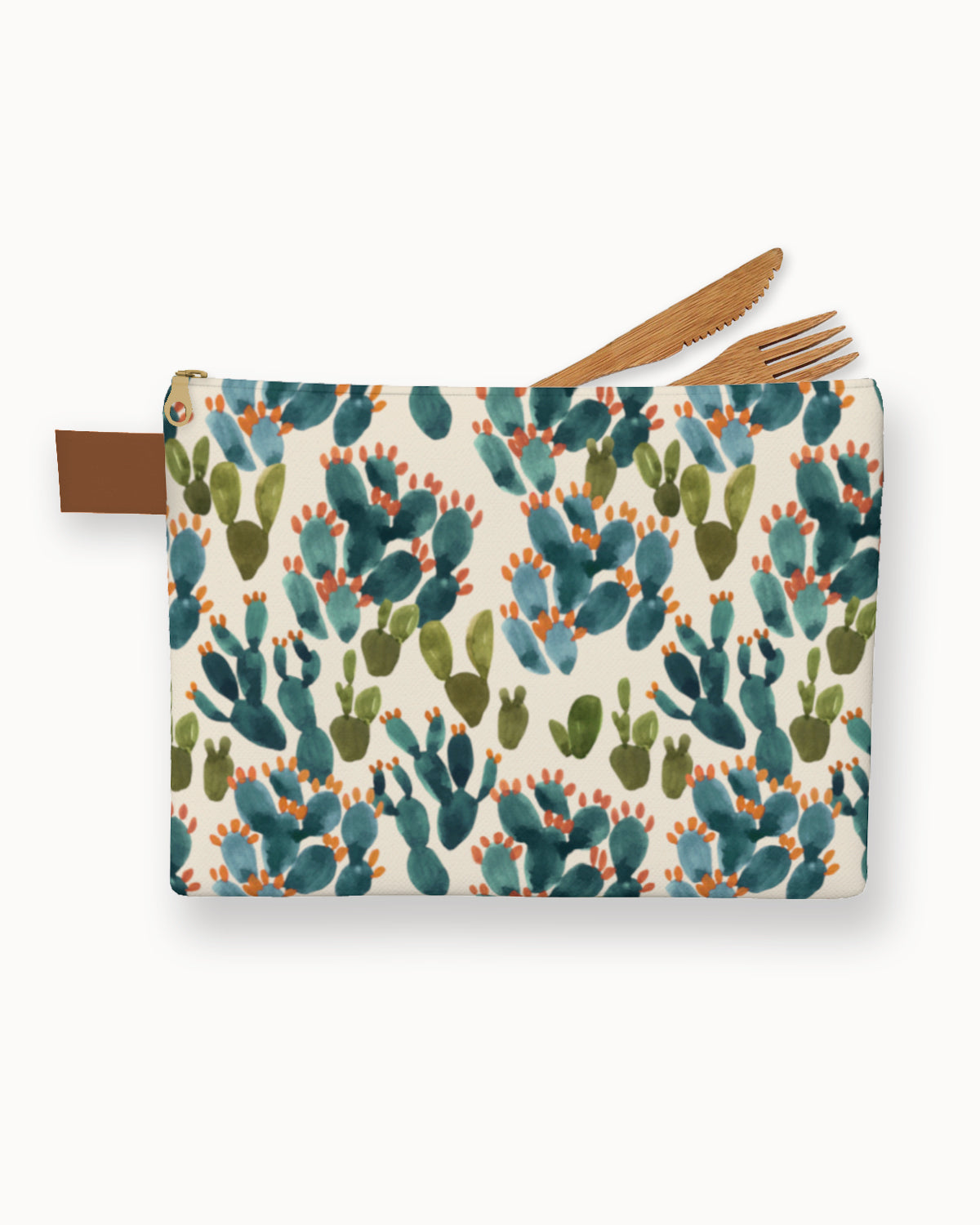 Nopal Cactus Field Carry-All Pouch