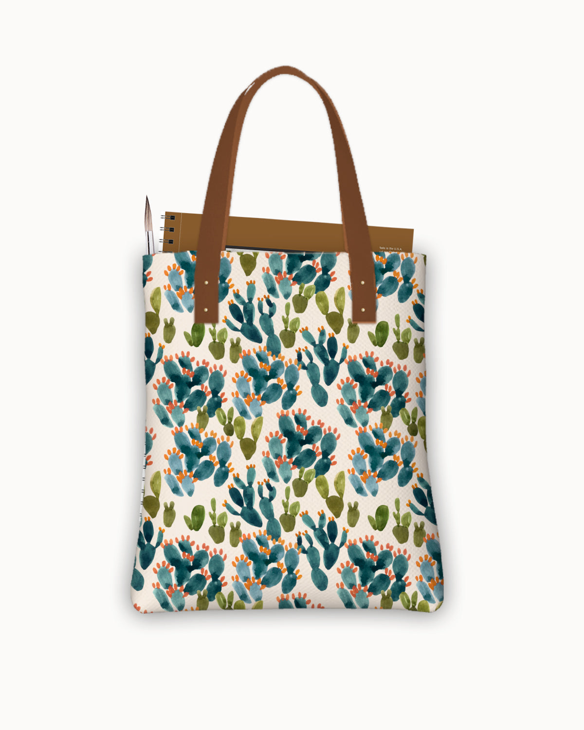 Nopal Cactus Field Urban Tote Bag