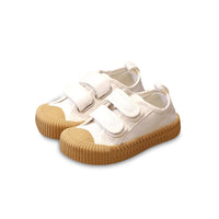 MOF Kids shoes touch strap canvas sneakers