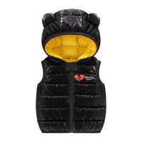 MOF Kids infant toddler hooded waistcoats