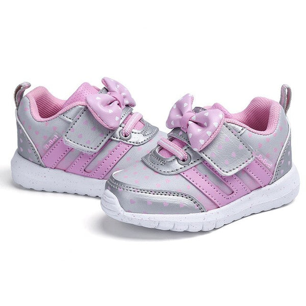 MOF Kids girls touch strap hot sneakers