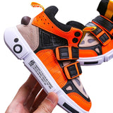 MOF Kids shoes autumn strap high top sneakers