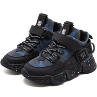 MOF Kids shoes autumn winter camo high top sneakers