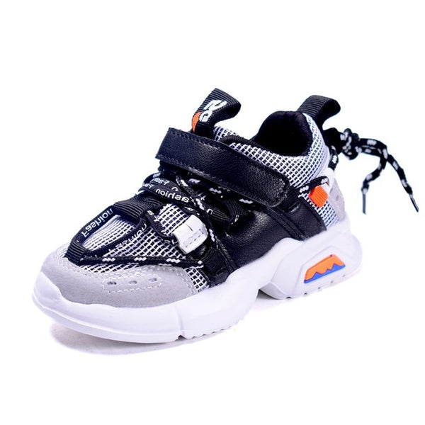 MOF Kids toddler shoes trendy breathable chunky sneakers