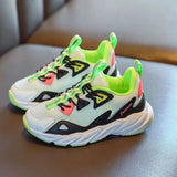 MOF Kids shoes 2020 spring autumn children mesh breathable sport sneakers