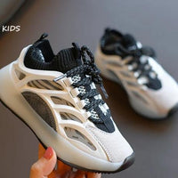 MOF Kids shoes 2020 spring children genuine leather street style sneakers