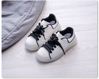 MOF Kids shoes 2020 autumn children pu leather shoes baby girls casual trainers boys sport sneakers