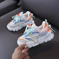MOF Kids shoes 2020 autumn baby girls brand casual shoes children street fashion breathable shoes boys sport sneakers