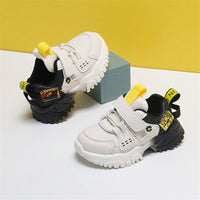 MOF Kids shoes 2020 new autumn baby sneaker soft sole leather breathable infant toddler shoes light up non-slip 0-3 year boy girl walkers shoes